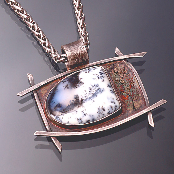 Kathleen Krucoff will demonstrate how she transforms metals and gemstones into a breathtaking necklace.