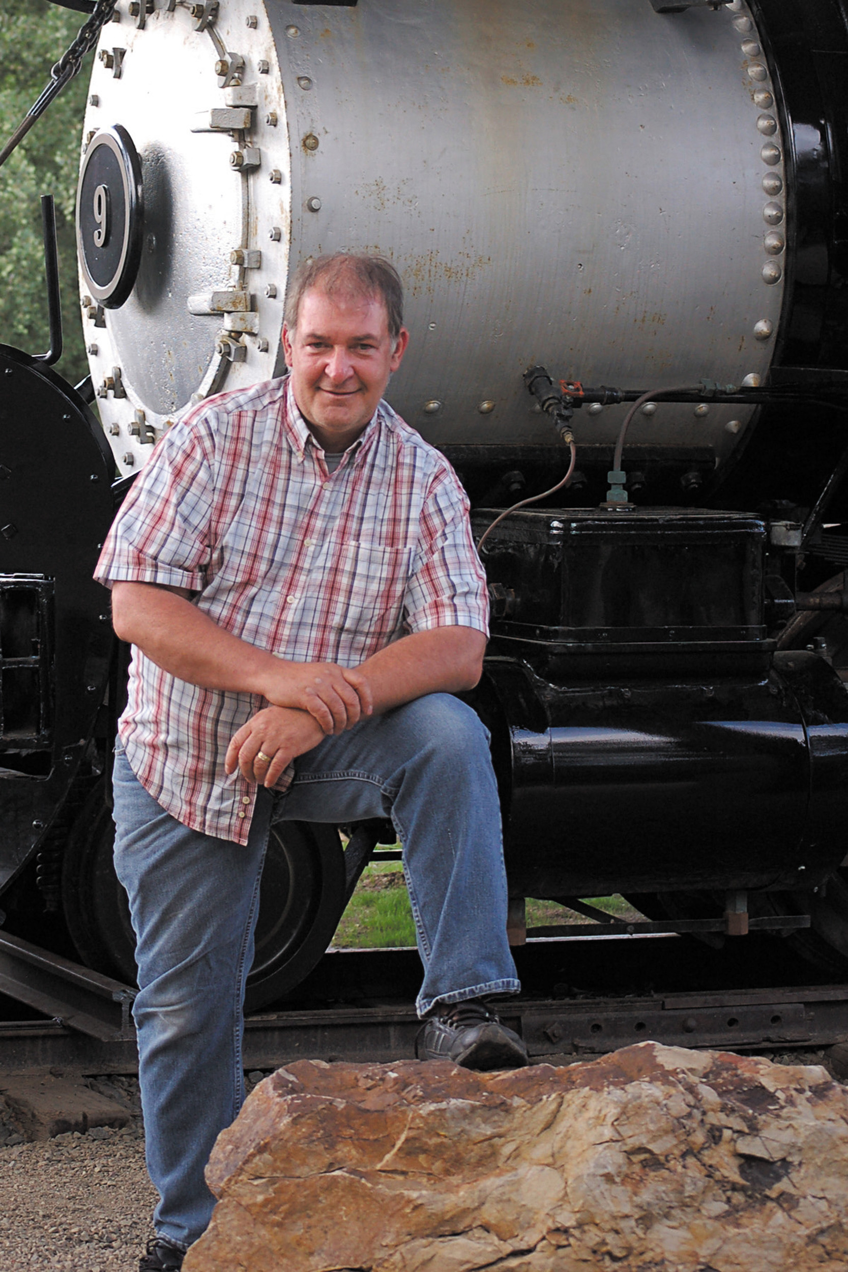 Ken Smith of Castle Rock will show recent railroad photographs through Sept. 30 at QRstorytelling Gallery in Castle Rock.