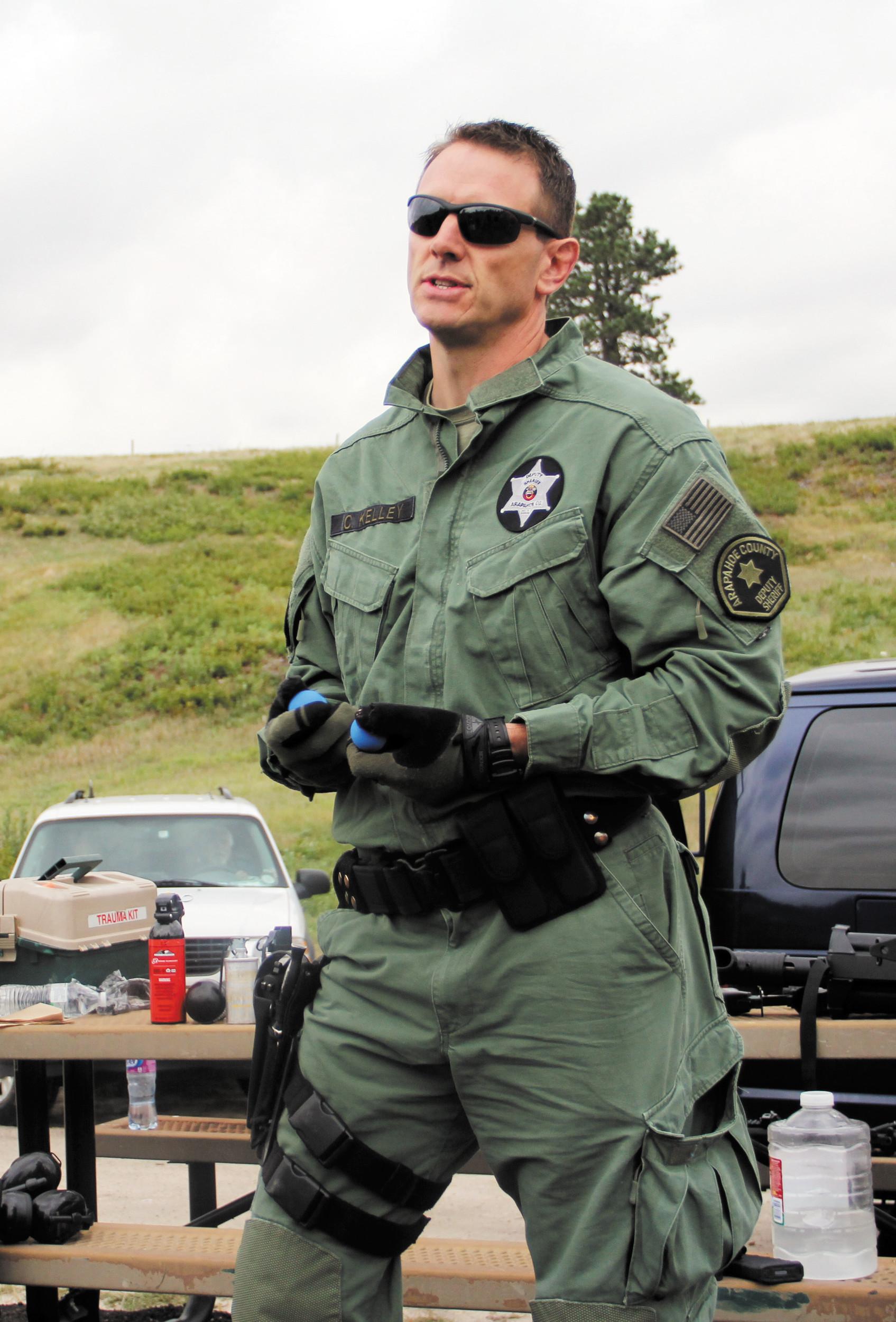 Sheriffs Show Off Training Facility