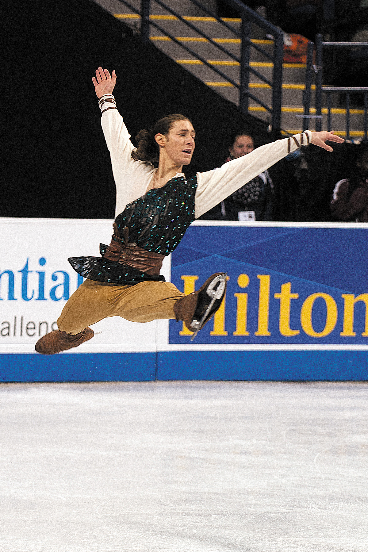 Brown finishes fourth at Worlds