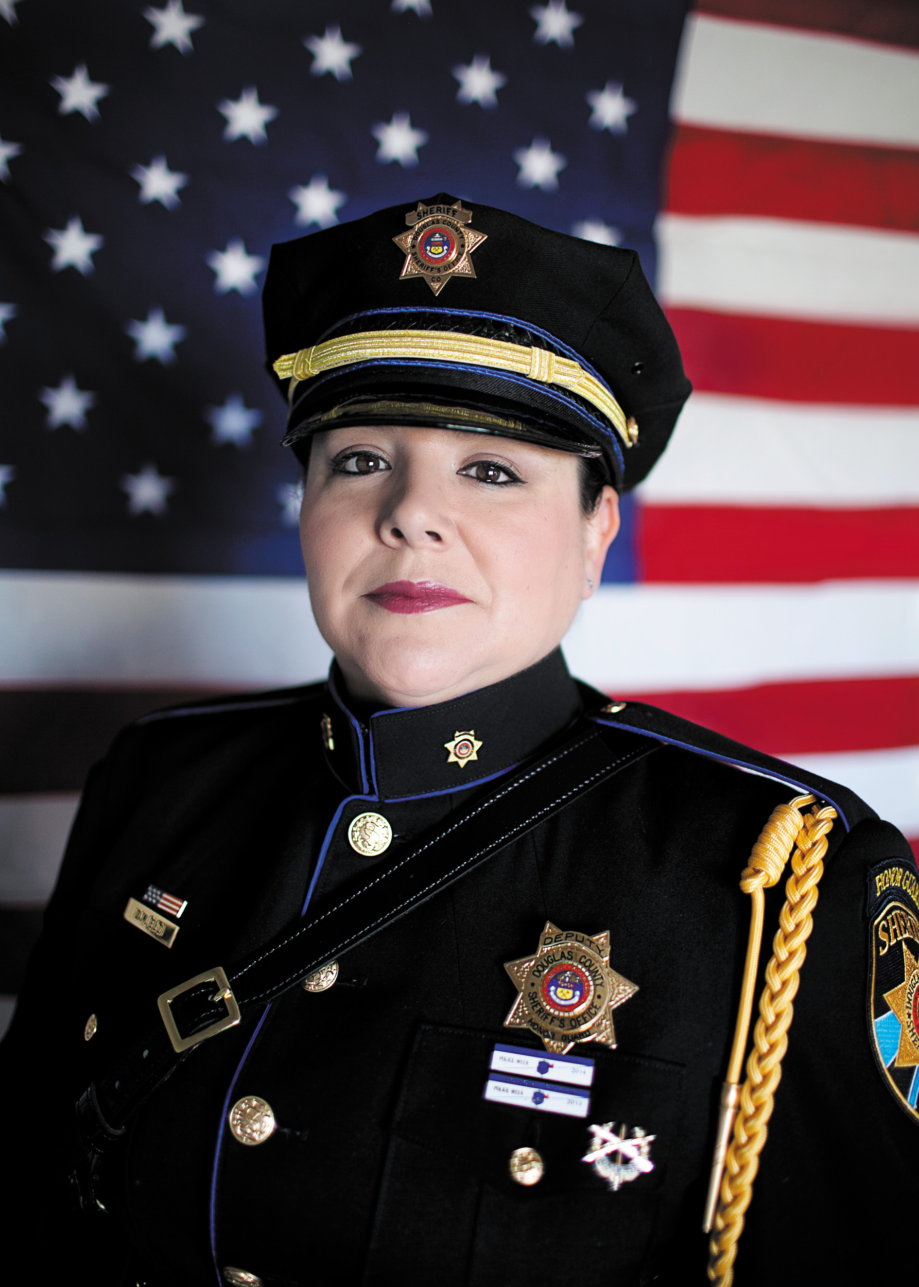 Deputy Dawn Elzi of the Douglas County Sheriff's Office will be preforming the national anthem at the candle light vigil for fallen officers in Washington DC  May 13 as part of national police week.