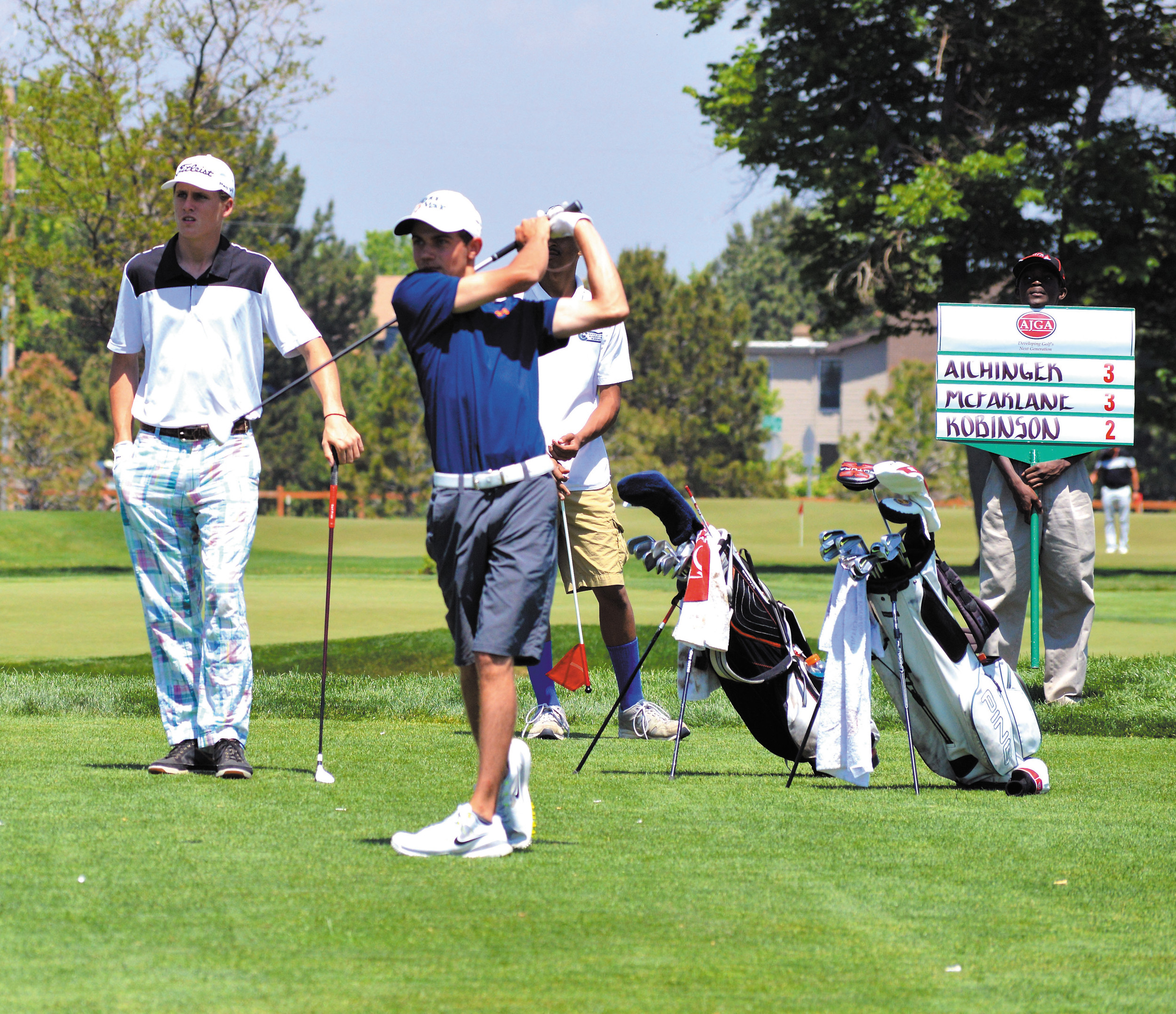 Local Players Tie For Ninth In Junior Event
