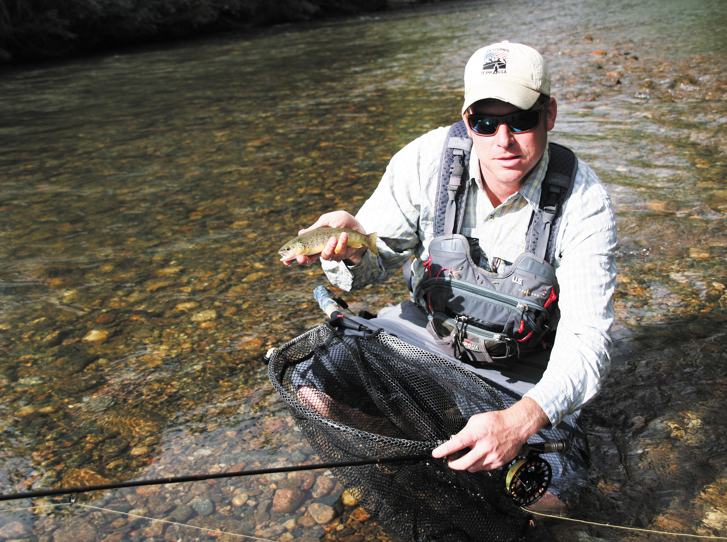 My name is jeremy sides for Fly fishing team usa