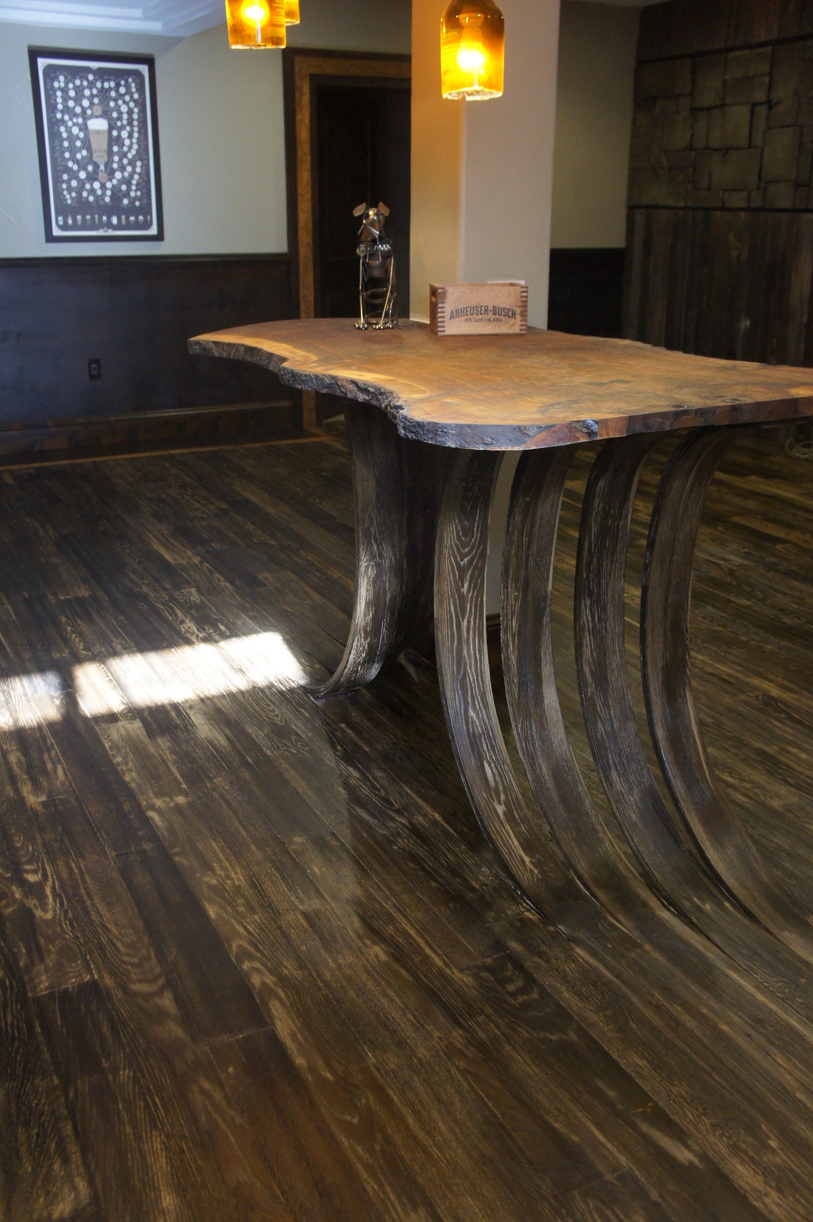news parker colorado parkerchronicle net a modified chevron pattern wood floor dyed and oiled with miracle oil amd created by joe rocco co owner of artistic floors by design