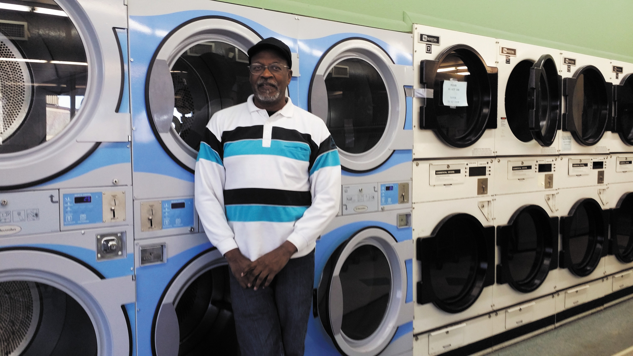 george davis closed his laundromat in the woodlawn shopping center on halloween after he says - Davis Halloween Store