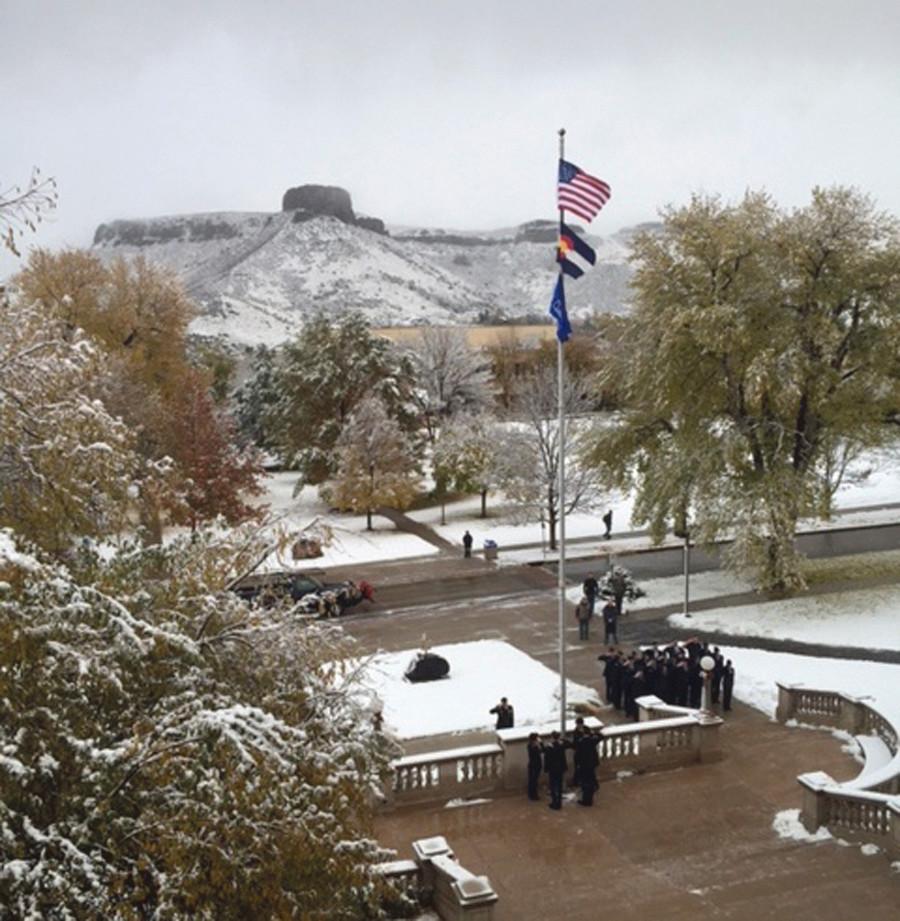 School Of Mines ROTC Honors Vets