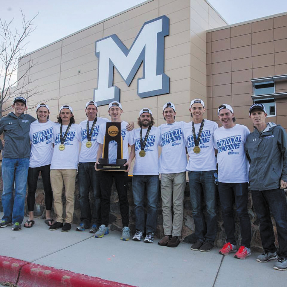 Colorado School Of Mines Runners Bring Home First National