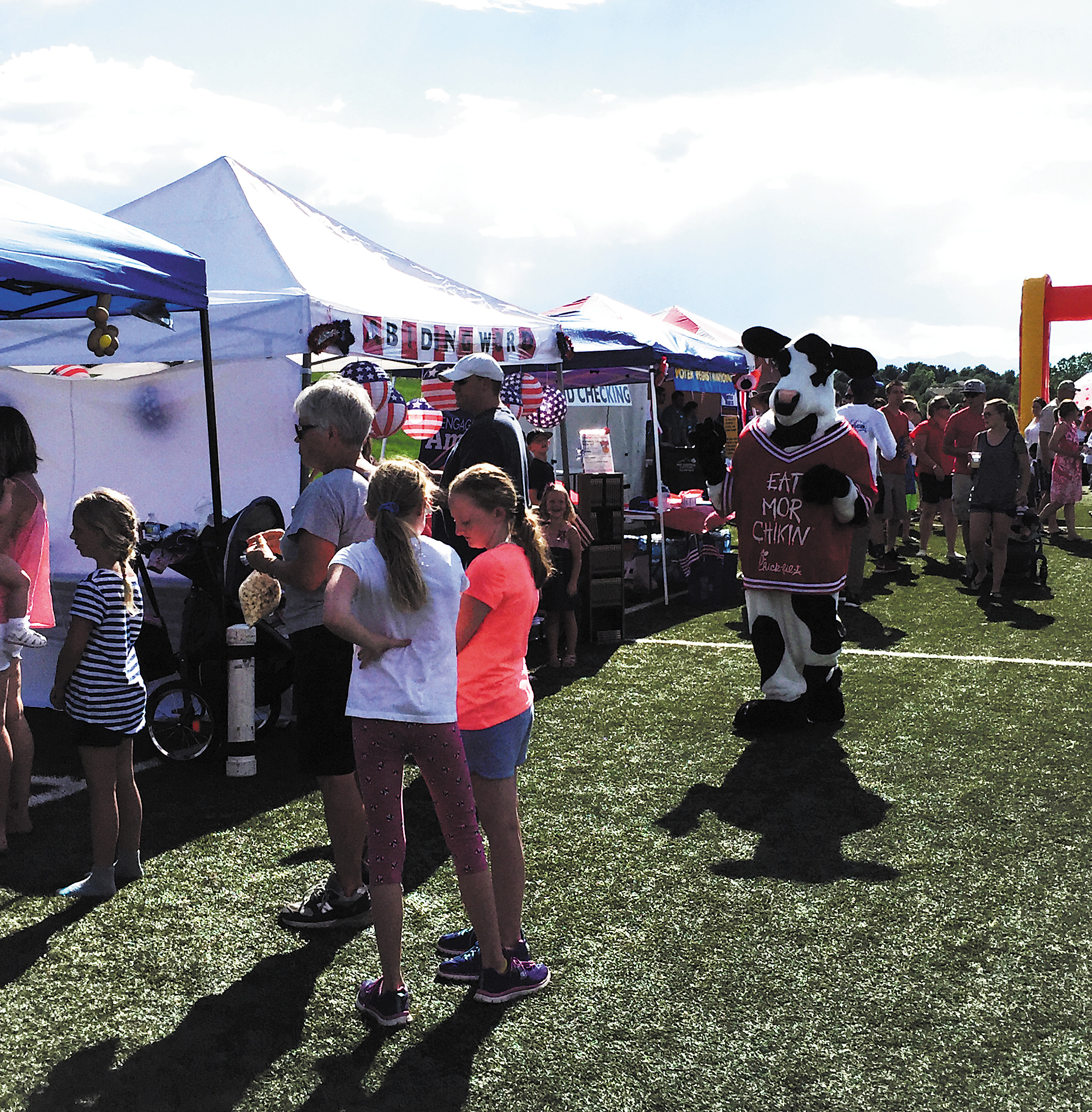 Highlands Ranch July 4th Parade: Fun And Families Fill Park