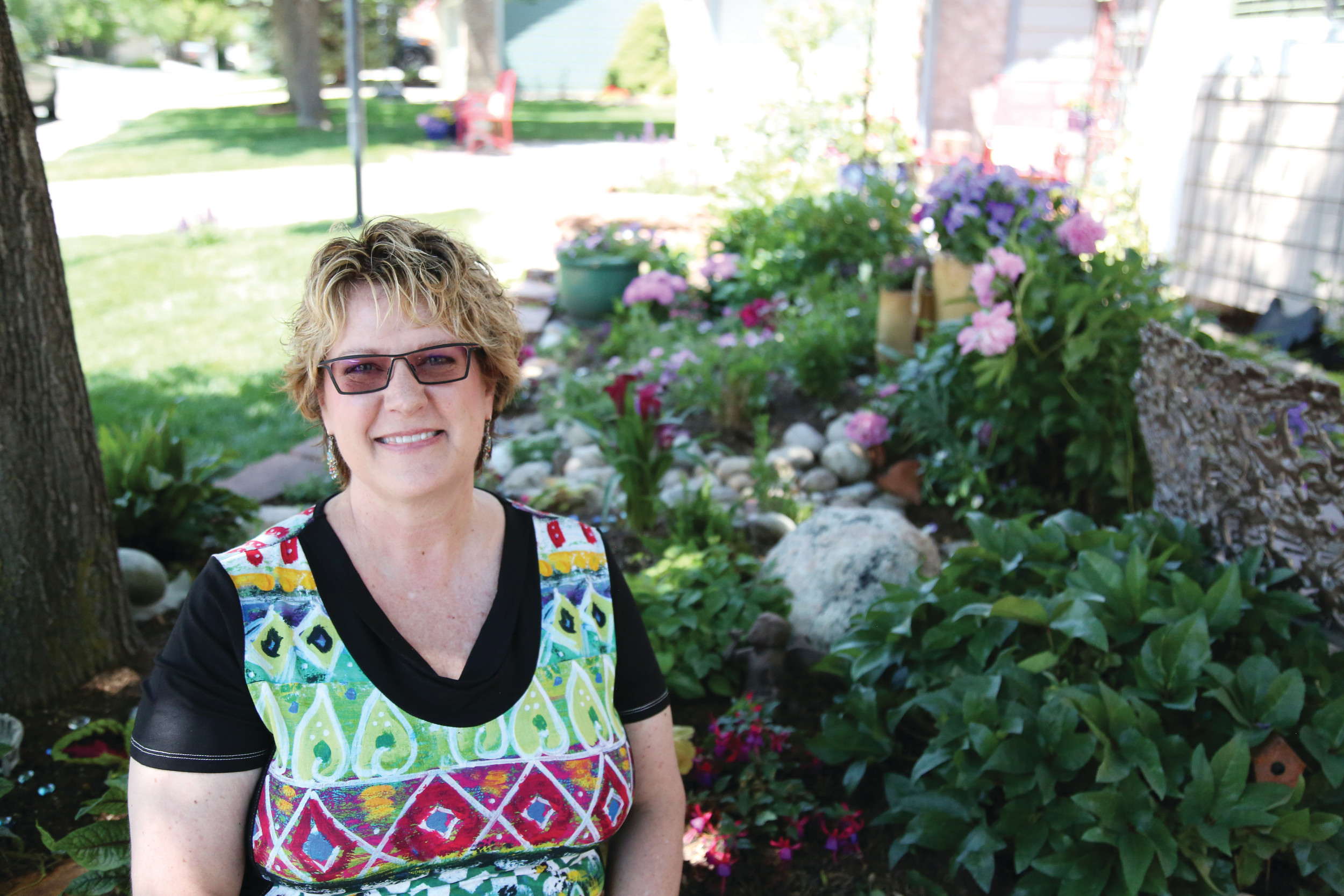 Cancer Survivor Shows Off Victory Garden