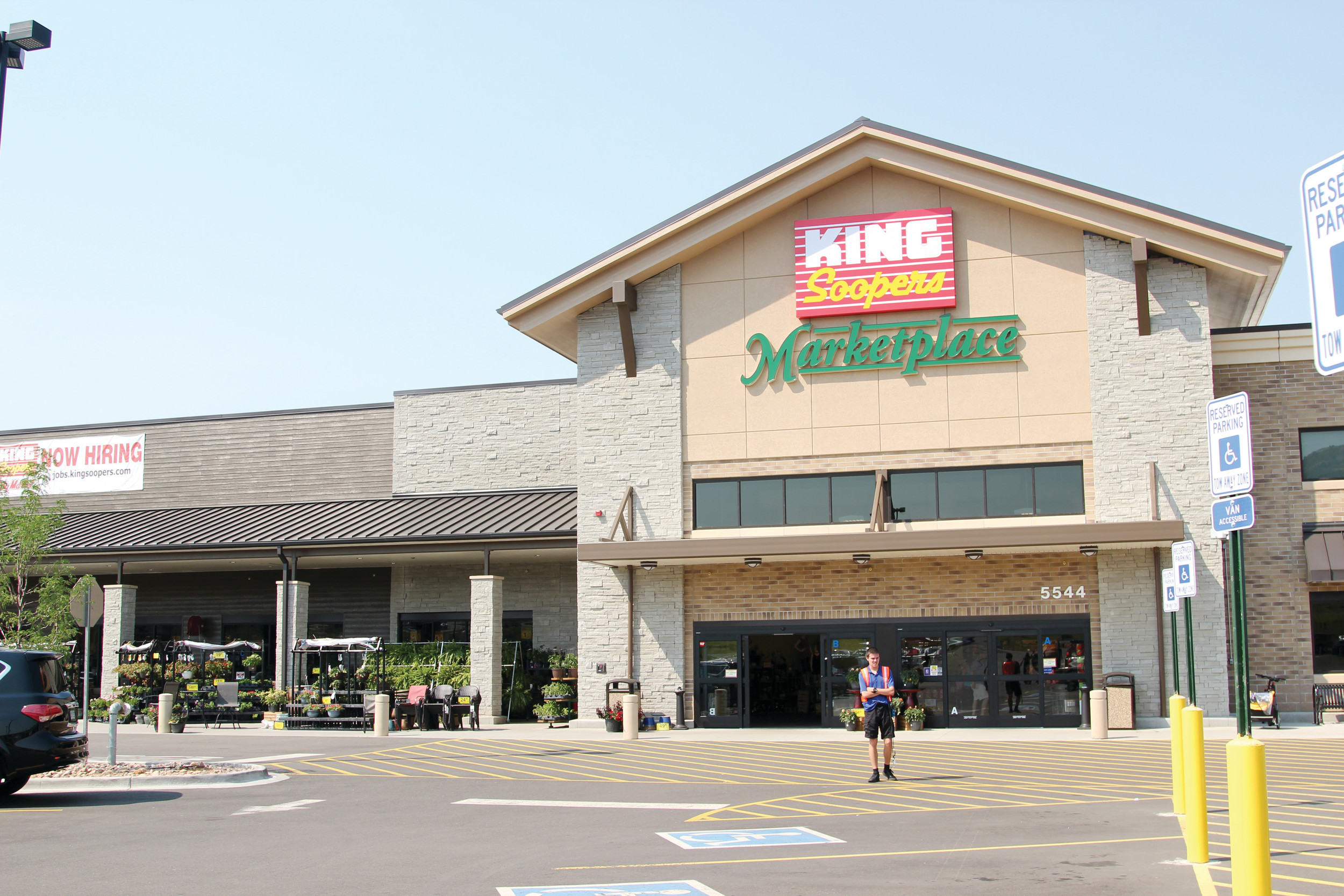 A King Soopers Marketplace Is Located At 5544 Promenade Parkway In Castle  Rock. The Store