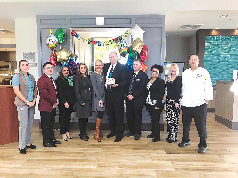 Hilton Celebrates First Birthday In Arvada