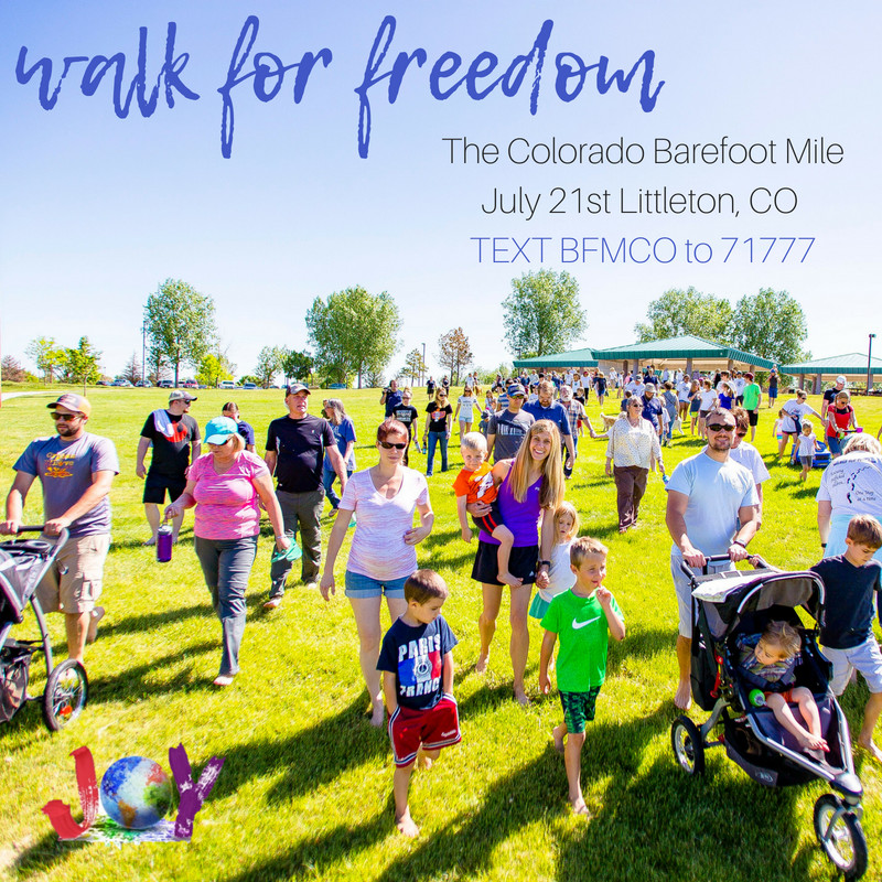 Shooting In Englewood Colorado Today: The Colorado Barefoot Mile (fight Child Trafficking