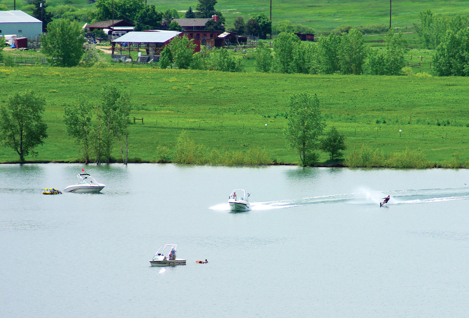 Standley Lake won't be a home to motor boats and water skiers this summer. City officials have banned any water craft that needs to be put into the water with a trailer for 2019 for fears of contamination.