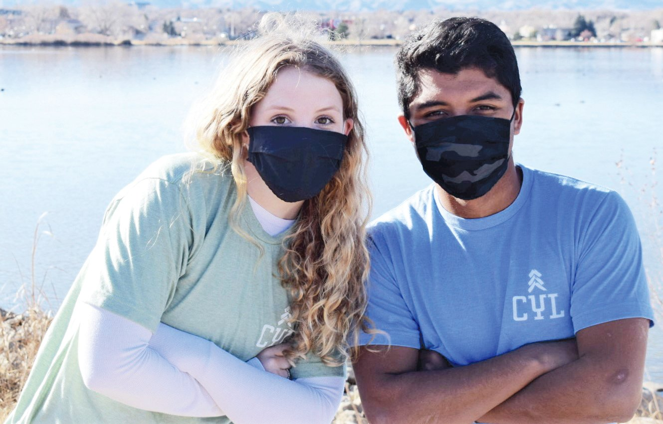 """Lily Kerlin, a Denver South senior, and Brandon Benedict, a senior at Arvada West High School, are the co-hosts for a monthly podcast """"Hear Our Voices,"""" which will tackle a number of topics, including resiliency, courage, empathy and more.COURTESY Photo"""
