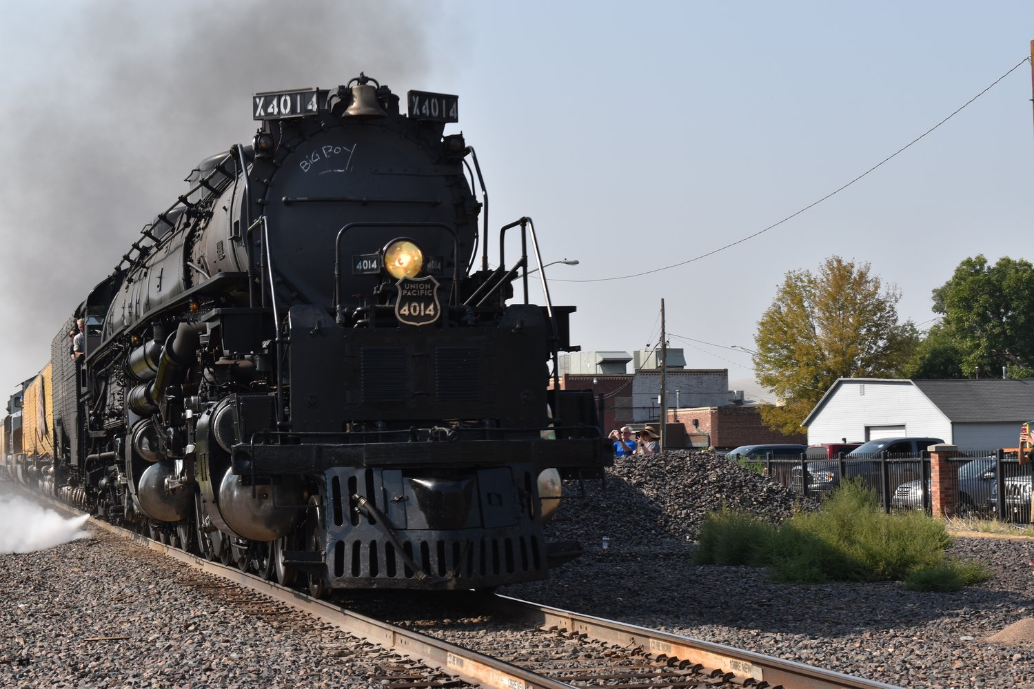 Big Boy was built for Union Pacific in 1941 and is now the only steam locomotive of its kind still in operation. The other seven are kept in museums.