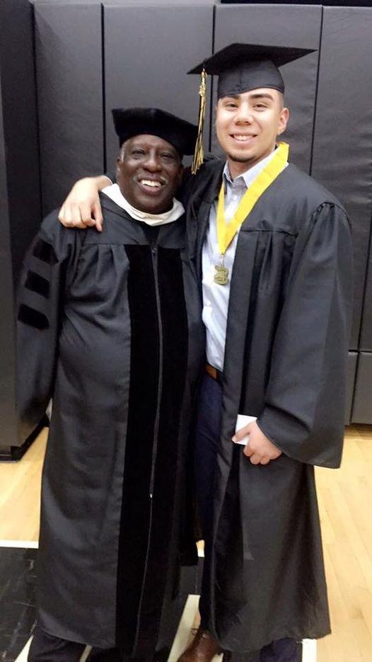 Nate Howard and Prairie View High School graduate PJ Gallegos