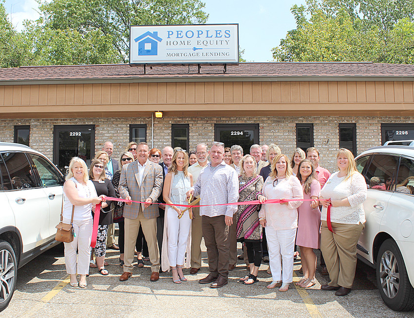 PEOPLES HOME EQUITY held a ribbon-cutting celebration last week at the firm's 2290 Keith Street N.W. location. Peoples Home Equity is dedicated to helping Americans achieve the dream of responsible home ownership. The mortgage advisers specialize in FHA, ARM, Fixed Rate, VA, Jumbo and USDA loans. You can contact a company representative to learn more at 423-813-3990, or go online to www.peopleshomeequity.com.locations/cleveland-tn/.