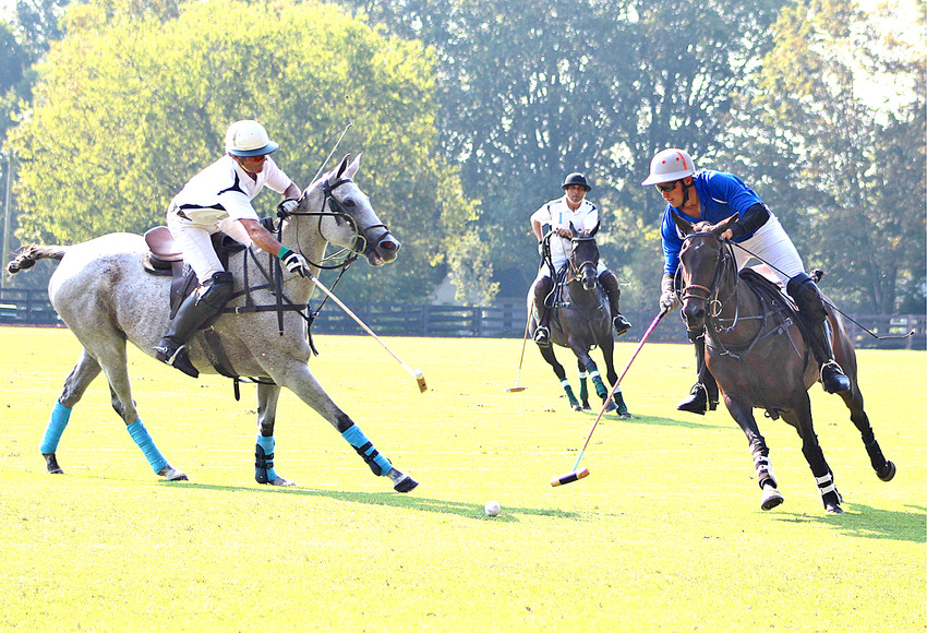 THE SPORT of polo wasn't introduced to nearby Bendabout Farms until the 1930s, when Summerfield Johnston observed the game being played by Fort Oglethorpe's 6th Cavalry, in Northwest Georgia. Johnston wanted to form his own team, and eventually created the Bendabout Farmboys to play against the 6th Cavalry. The tradition was carried on to his son, Summerfield Johnston Jr., who then inspired his children, Skeeter and Jillian, plus a few grandchildren, to pick up the sport.