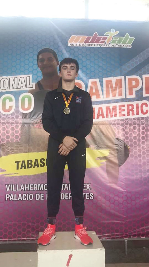 CLEVELAND High school wrestler and 15-under national champion Ashton David became the first ever 15-under wrestler from Tennessee to win a Pan American Championship. David defeated wrestlers from Peru and Mexico on his way to his freestyle championship held in Mexico City, Mexico.