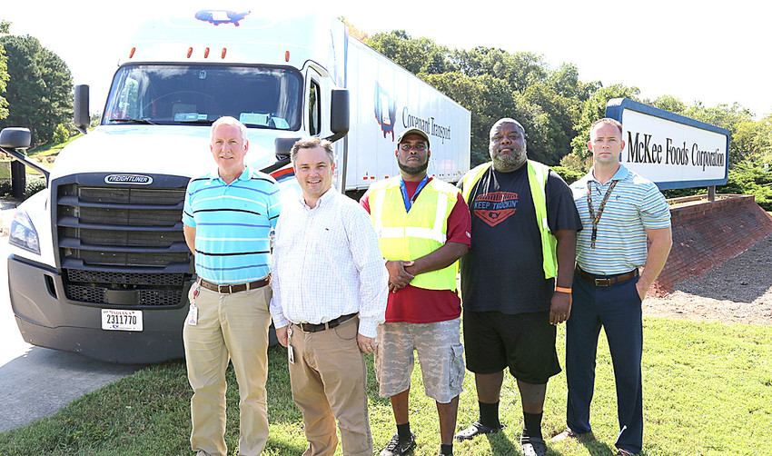 MCKEE FOODS and Covenant Transport Services have teamed to take food and  services to North Carolina's hurricane-battered residents.