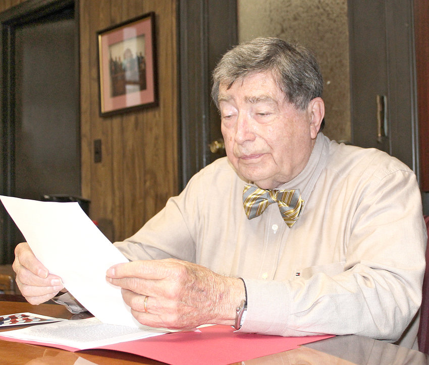 LARRY McDARIS is retiring as Bradley County's Veterans Services director on Oct. 26. A Cleveland native, he previously spent 21 years in the U.S. Army, and returned home to spend 21 years with Maytag.