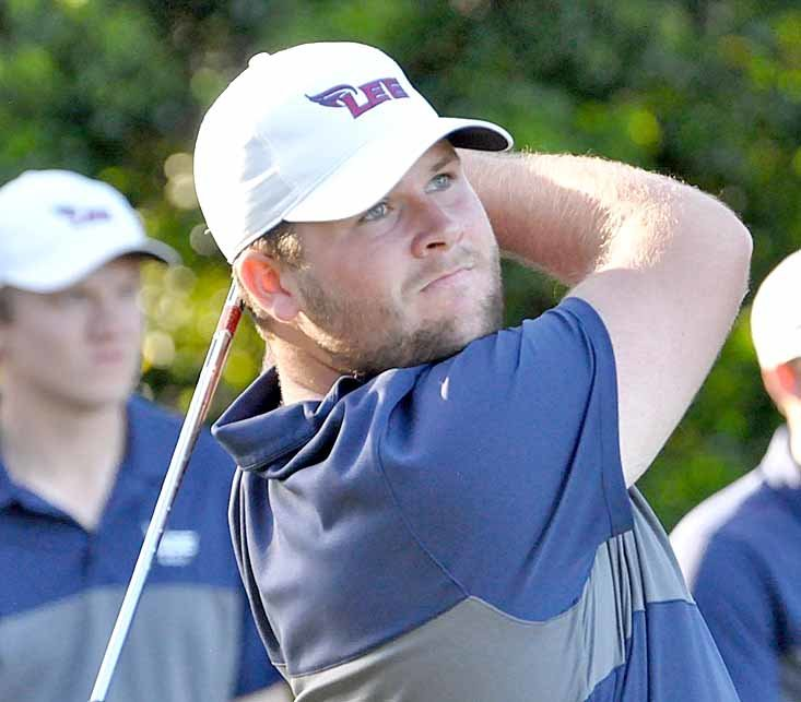 LEE GOLFER and junior Scott Odell led the way for the Flames, with a top 15 finish at the Copperhead Championship in Innisbrook, Fla.