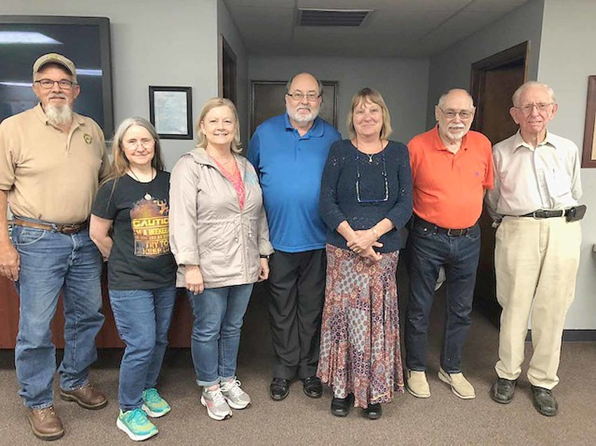 The Ocoee Region Beekeepers Association elected new officers for 2019. The next meeting will be in January 2019, on the third Tuesday of the month. Meetings are held in Benton at the Benton Municipal Building at 7 p.m. From left are Dennis Bell, board member; Debra Ballew, board member; Amanda Davis; secretary; Paul Frederick, president; Paula Williamson, treasurer; Ken Dale, vice president; Art Myers, librarian.