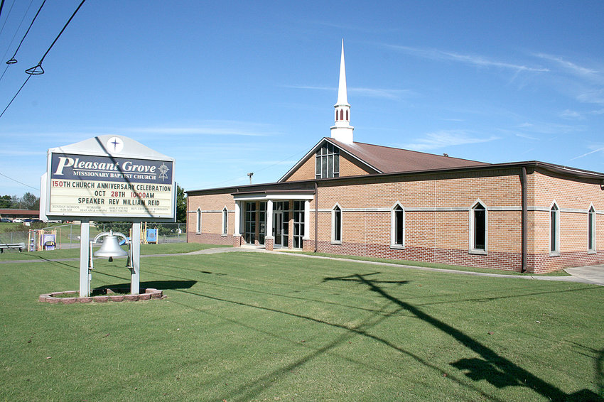 Pleasant Grove Missionary Baptist Church was completely demolished and rebuilt in 1978. It underwent a renovation in 2002.