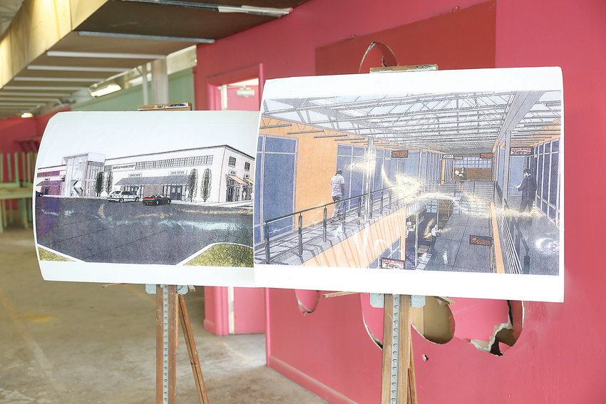 PRELIMINARY DRAWINGS of the Partnerships in Industry & Education Center, or PIE Center, have been made, but Bradley County Schools officials are working now to finalize the designs.