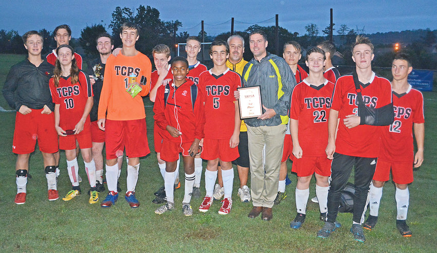 AFTER GOING winless in their inaugural 2017 season, the Tennessee Christian Preparatory School soccer team finished third in the TAPSA conference this year with a 6-6-1 record.