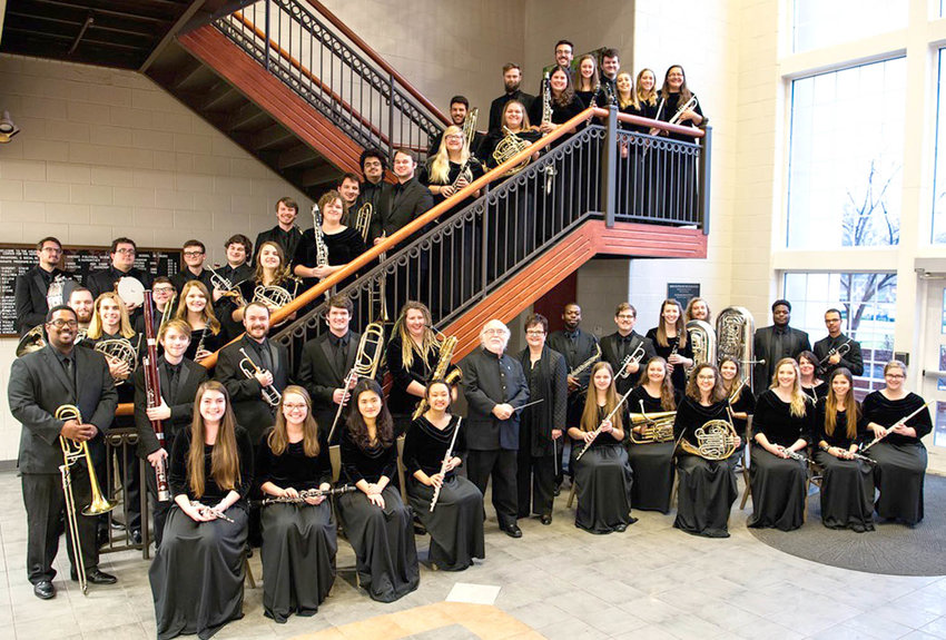 Lee University Wind Ensemble under the direction of Dr. David Holsinger will perform in concert Tuesday at 7:30 p.m.
