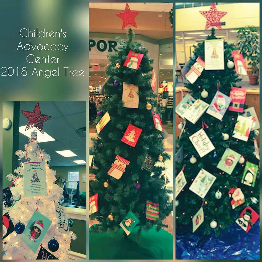 ANGEL TREES have been set up in several Cleveland businesses by The H.O.P.E. Center/Children's Advocacy Center. The organization is asking for donations of toys, as well as necessities such as coats, hats, gloves and shoes. The trees are located in Cleveland State Community College, BenchMark Physical Therapy, Bradley Square Mall, Black Fox United Methodist Church, Hair Graphix and the Bradley County Misdemeanor Probation Office.