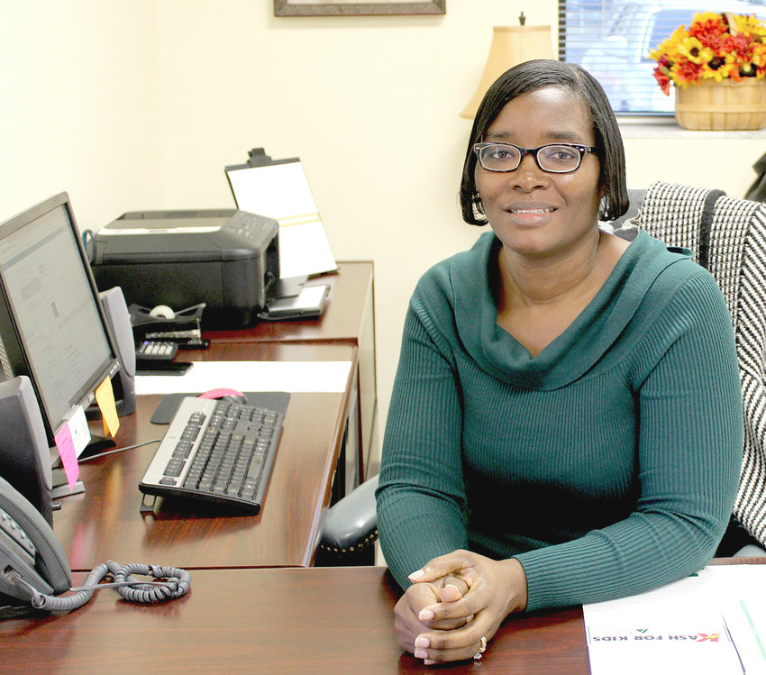 LIZ MATHURIN, the new programs manager for Junior Achievement of the Ocoee Region, has been busy making connections with educators and business leaders throughout the region.