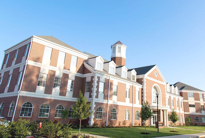LEE UNIVERSITY'S School of Nursing has become the Cleveland-based school's first doctoral program. The photo above shows the school's beautiful School of Nursing building.