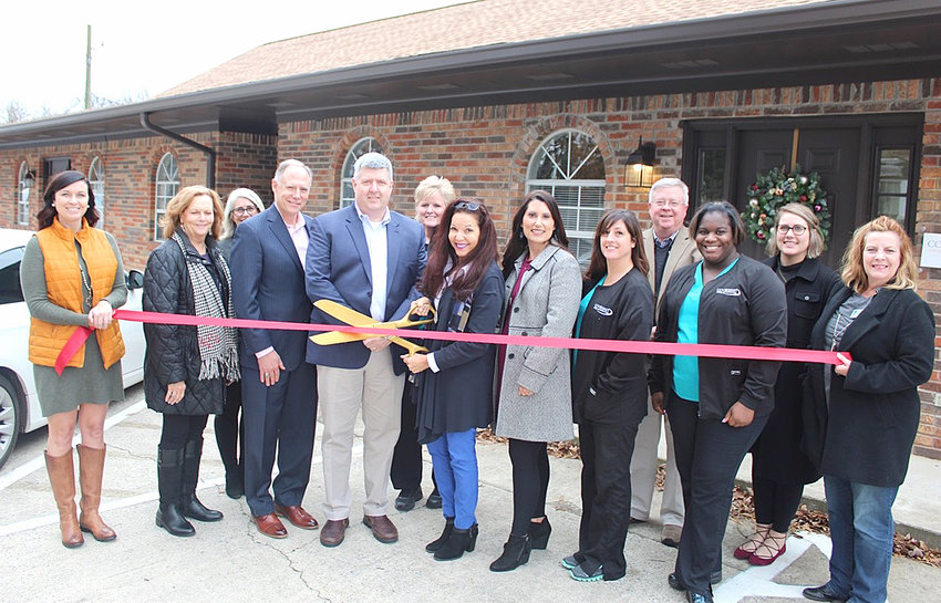Owners, staff and Chamber Ambassadors were at the recent ribbon-cutting.