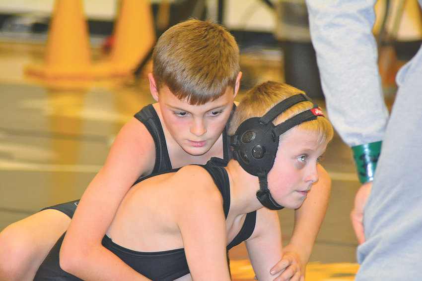 THE BRADLEY PRIDE WRESTLING CLUB recently hosted the Bradley Bash Beginners Tournament. Some 140 wrestlers from 23 teams competed in the event, which introduces new wrestlers to the world of wrestling competition.