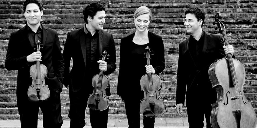SCHUMANN QUARTETT  to perform Monday, Feb. 4, as part of the the Lee University  Presidential Concert Series.