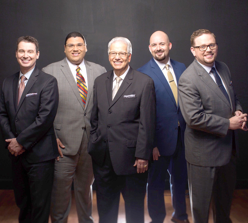 THE KINGSMEN will be in concert Sunday, 6 p.m., at Solid Rock Baptist Church, 4975 U.S. Highway 11 in Calhoun.