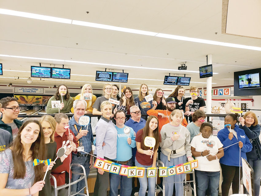 Life Bridges clients enjoyed a fun day at Leisure Time Bowling with Walker Valley High School Junior Civitan Club members. Life Bridges has provided services for individuals with mental and physical disabilities since 1973.