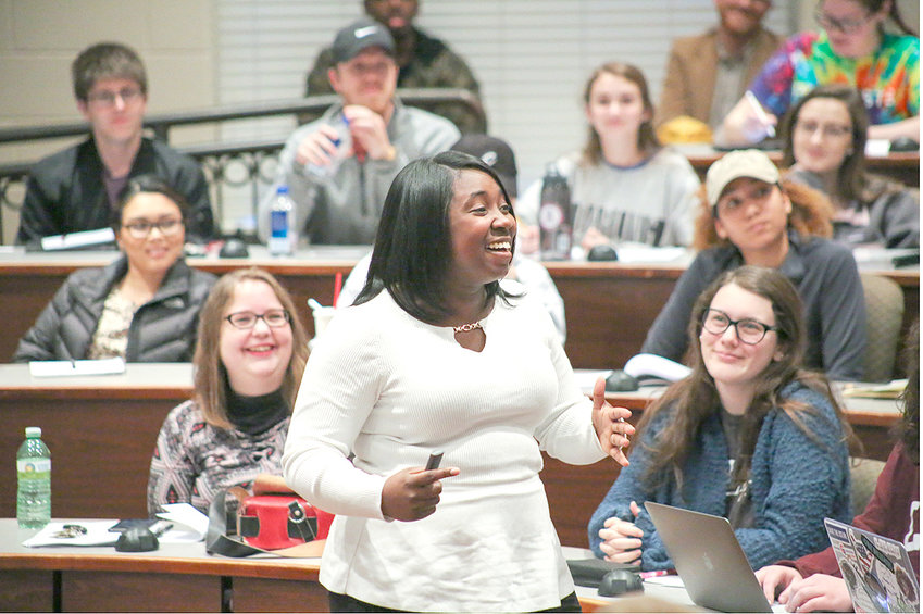 INDYASIA FOWLER, a 2017 Lee University graduate, describes her experiences as an African-American living in a region of the nation where monuments praising Confederate leaders are present in many prominent areas in cities and towns.