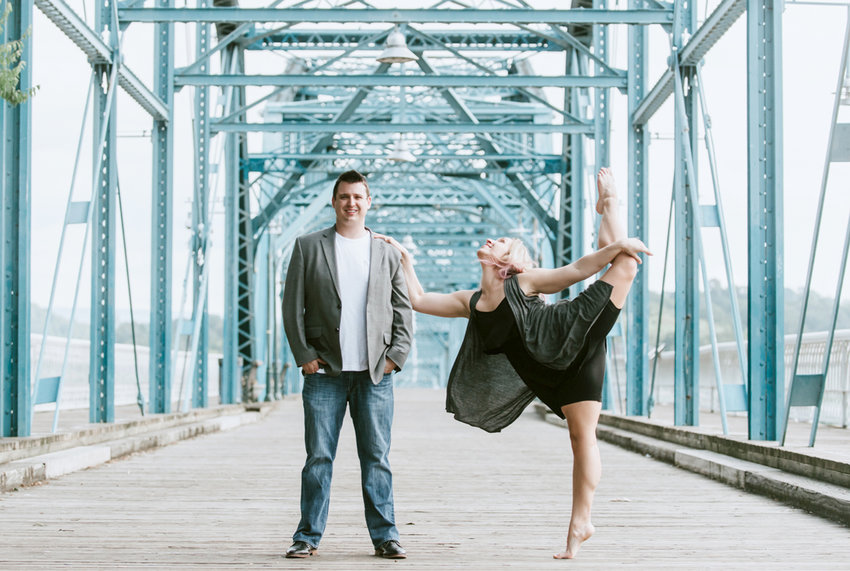 AUSTIN AND ALEXIS BURLESON are the owners of Unity Dance Troupe in Cleveland. Founded by Alexis in 2010 as a Lee University student, Austin later joined his wife and now serves as manager of the growing nonprofit while she teaches dance.