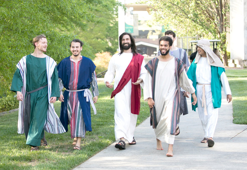 THE SONRISE Resurrection Pageant will be presented April 20 by Southern Adventist University, in collaboration with the Collegedale Church of Seventh-day Adventists. Tickets for the pageant will be distributed to community members Monday, April 8, beginning at 7 a.m. in Hamilton Place Mall (on the upper level by the Mall Information Desk, near JCPenney). Typically all 7,000 tickets are given away in 90 minutes. The annual pageant portrays Christ's last days with 500 costumed cast members, live animals and dramatic sets. The one-mile walk-through event recreates six interactive scene from the Bible. No more than seven tickets will be given to any family, regardless of the church or group they represent. The person picking up the tickets must be at least 16 years old. The event route is handicapped accessible. For information, call 423-236-7110.