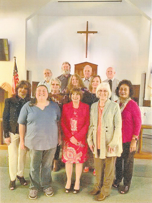 "BENTON UNITED METHODIST Church Choir, under the direction of Wendell Richardson, will present its Easter cantata at 6 p.m. April 21. The cantata is ""It Is Finished."" Choir members, from left front, are Joyce Stafford, Marianne Yesensky, Sandra Hostetter, Cheryl Davis, Tepa Bigham; second row, Darlene Conn, Belinda McClary, Donna Calhoun, and back, Don Denny, Rhino Yesensky, Johnny Pippenger and Wendell Richardson."