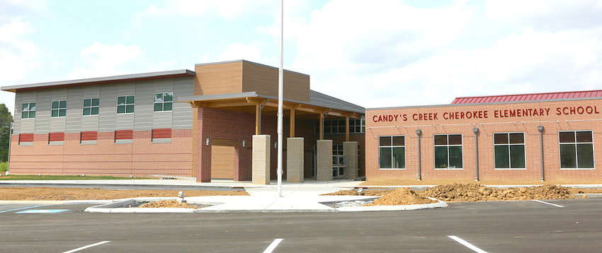 CONSTRUCTION on the new Candy's Creek Cherokee Elementary School has been delayed, with workers missing their April 19 deadline. The school opens to students this August.