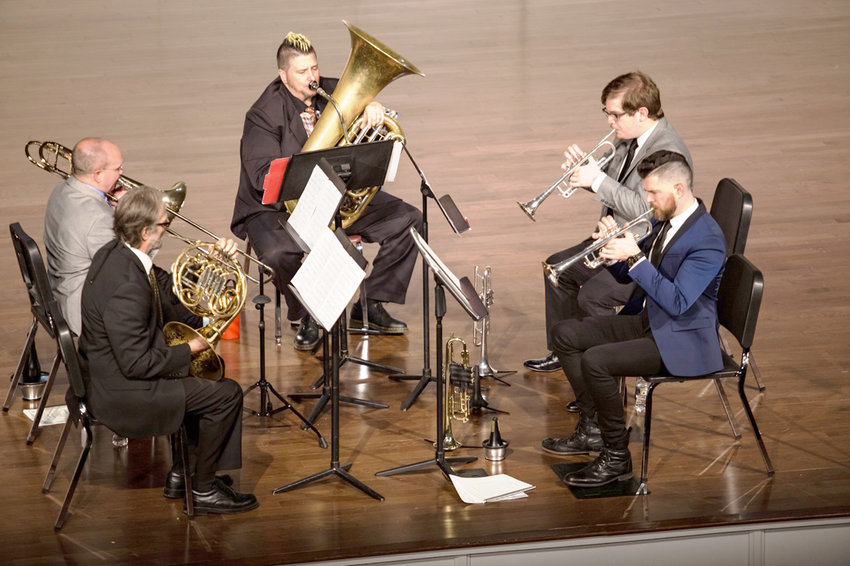 Lee University's Faculty Brass Quintet will perform on Monday, April 29, at 7:30 p.m. in Pangle Hall.
