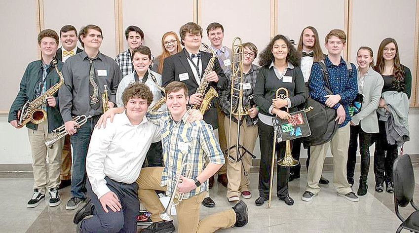 BRADLEY COUNTY SCHOOLS music students are shown in this photo. The school district is now hosting a music instrument drive to give more students like them the opportunity to play.