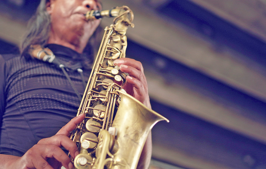 TAKE IN SOME JAZZ entertainment in the outdoors at the Jazz on the Hill event in Clinton  Saturday.