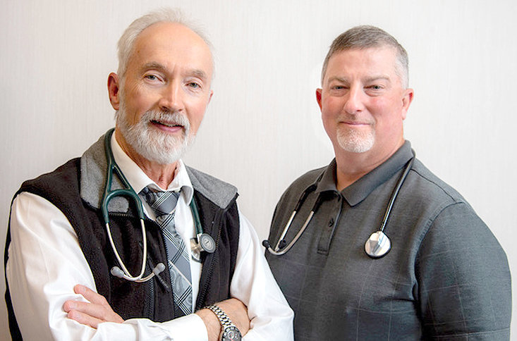 CHI MEMORIAL of Cleveland has announced the addition of Dr. Lawrence Swan, M.D., (left, and Dr. Harrison Sims III (right) to the CHI Memorial Medical Group.