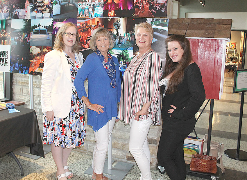 THE OCOEE CHAPTER of the National Society of Daughters of the American Revolution (DAR) recently donated $1,000 to the Museum Center at 5ive Points. The funding will be used for an American Revolution Trunk, which museum staff will bring to local schools. This will give students an interactive, hands-on experience featuring real artifacts from the time of the Revolution. From left are: Leigh Ann Boyd, DAR president; Joanne Swafford, DAR; Janice Neyman, executive director of Museum Center; and Hope Vollm, Museum Center curator of education.
