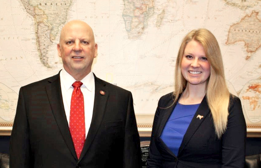 NICOLE WILEY, a Cleveland High School alumna, recently completed an internship with the office of U.S. Rep. Scott Desjarlais in Washington, D.C.